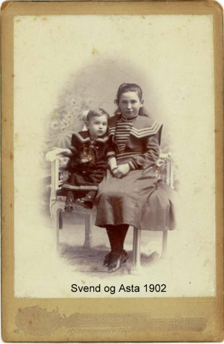 Asta og Svend 1902