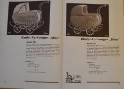 BSU Eden Kinderwagen 1937