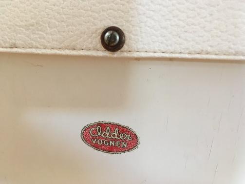 Odder dukkevogn fra først i 1950'erne detalje