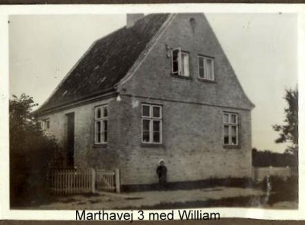 Min mors barndomshjem i Holbæk ca 1930