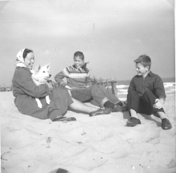 Mor banik, jeg og Torben sep.1962