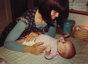 Maria og Benjamin oktober 1982
