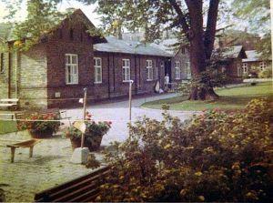 Billede af det nu nedrevne Blegdamshospital Nørrebro