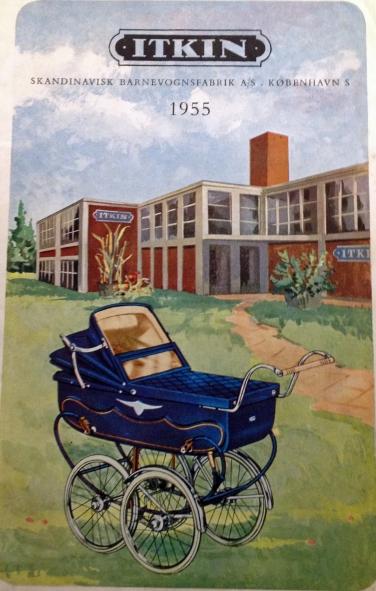 Itkin fabrikkens katalogside fra Amager Strandvej 124