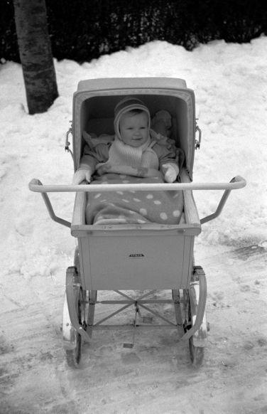 Henrik Skov SULFA Itkin barnevogn fra først i halvtredserne