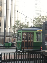 San fransisco Street car på Market street