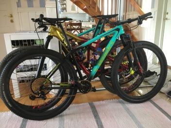 De fine meget dyre cykler