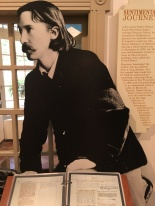 Robert Stevenson boede og skrev i Monterey