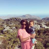 Oliver og Zinhle på stranden i Sydafrika september 2017