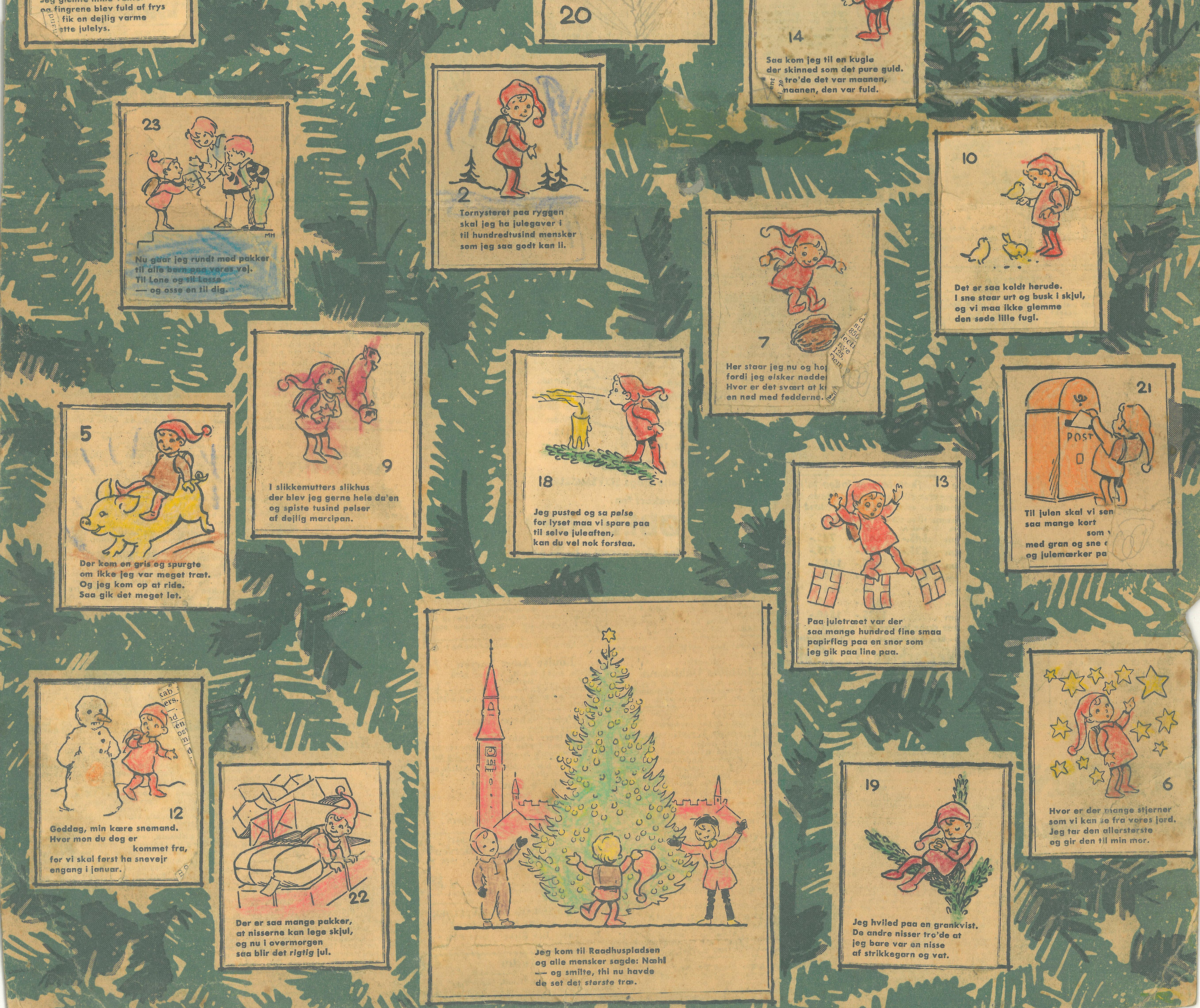 Julekalender en lille nisse fra Politikken