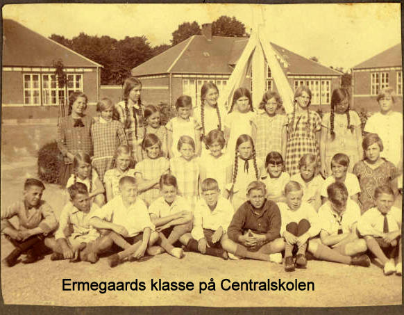 Ermegaards klasse på Centralskolen i Holbæk
