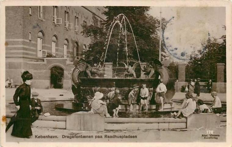 Dragefontænen fra før 1923