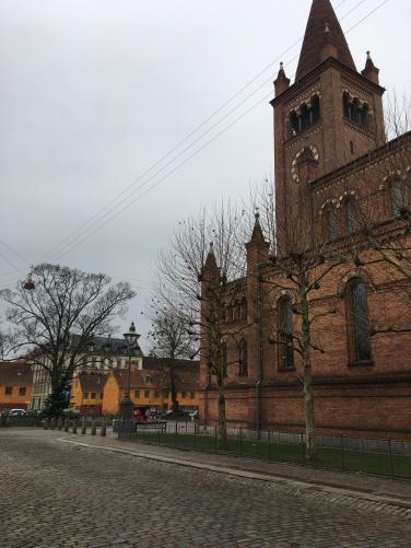 Sankt Pauls kvarter i Nyboder tæt på Gernersgade, hvor jeg delte en lejlighed med en anden sygeplejerske i 1975 i min ungdom