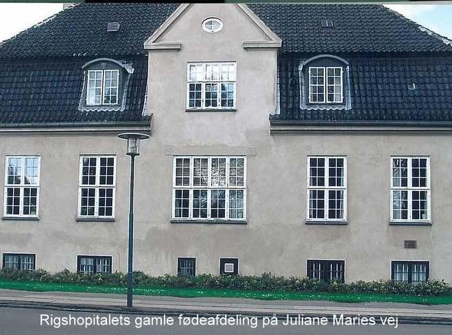 Rigshospitalets gamle fødegang på Juliane Mariesvej