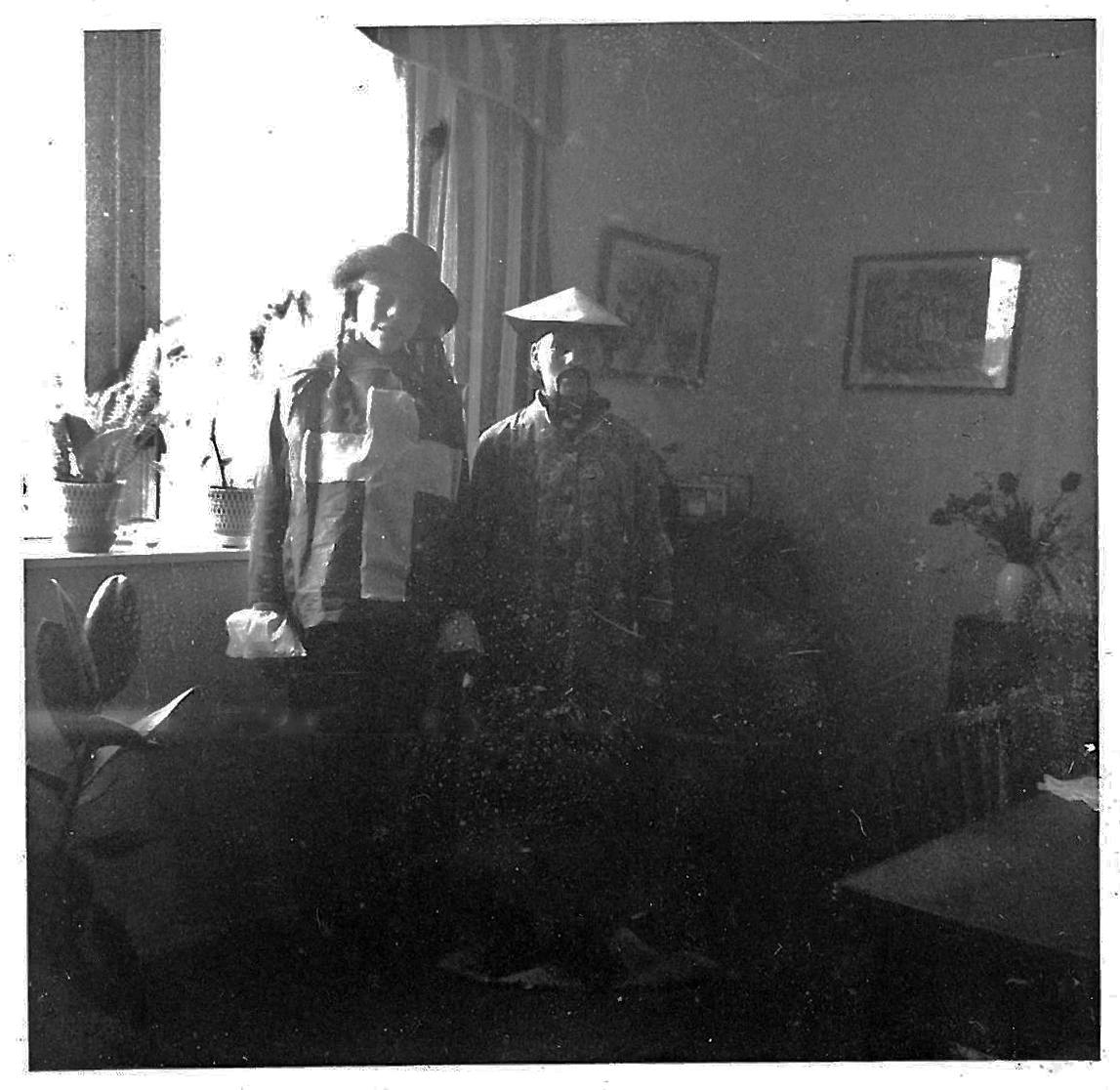 Sidste gang udklædning i 1963 Musketer og Kineser