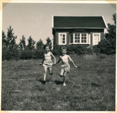 Lynæs 1956 hos Kotzelu's.