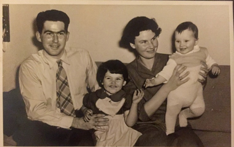 Værtsparret min morbror og tante og deres børn