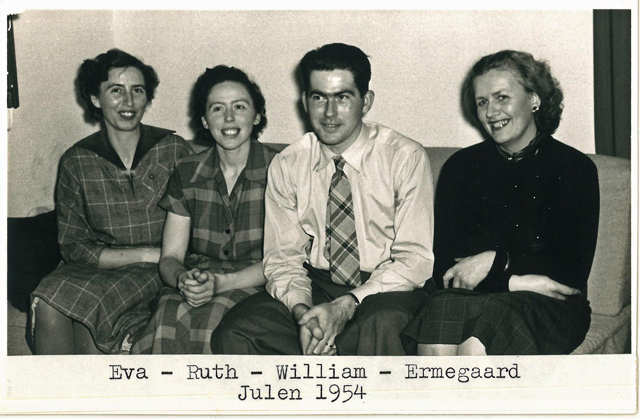 Eva, Ruth min mor, og søskende