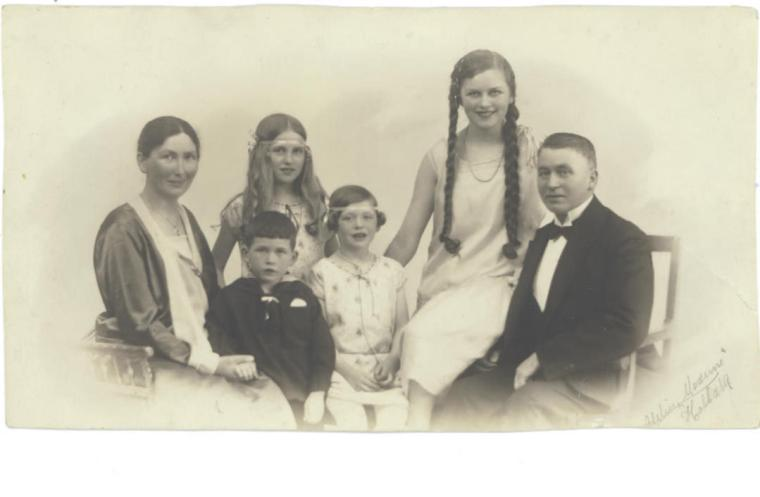 Fotografi fra et atelier ca 1929