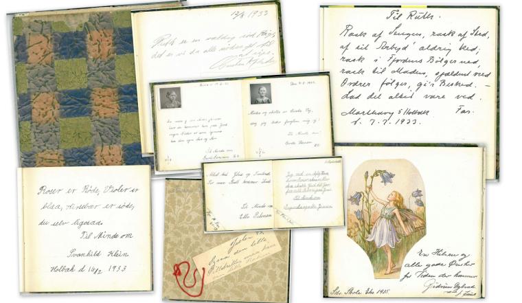 Min mors poesibog 1933