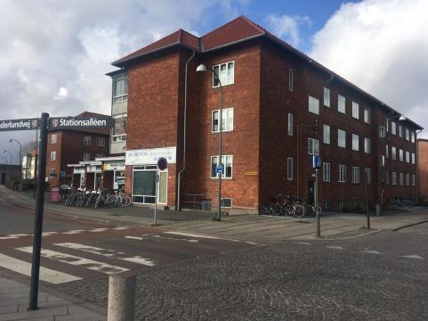 Sønderlundvej og Stationsalléen i Herlev