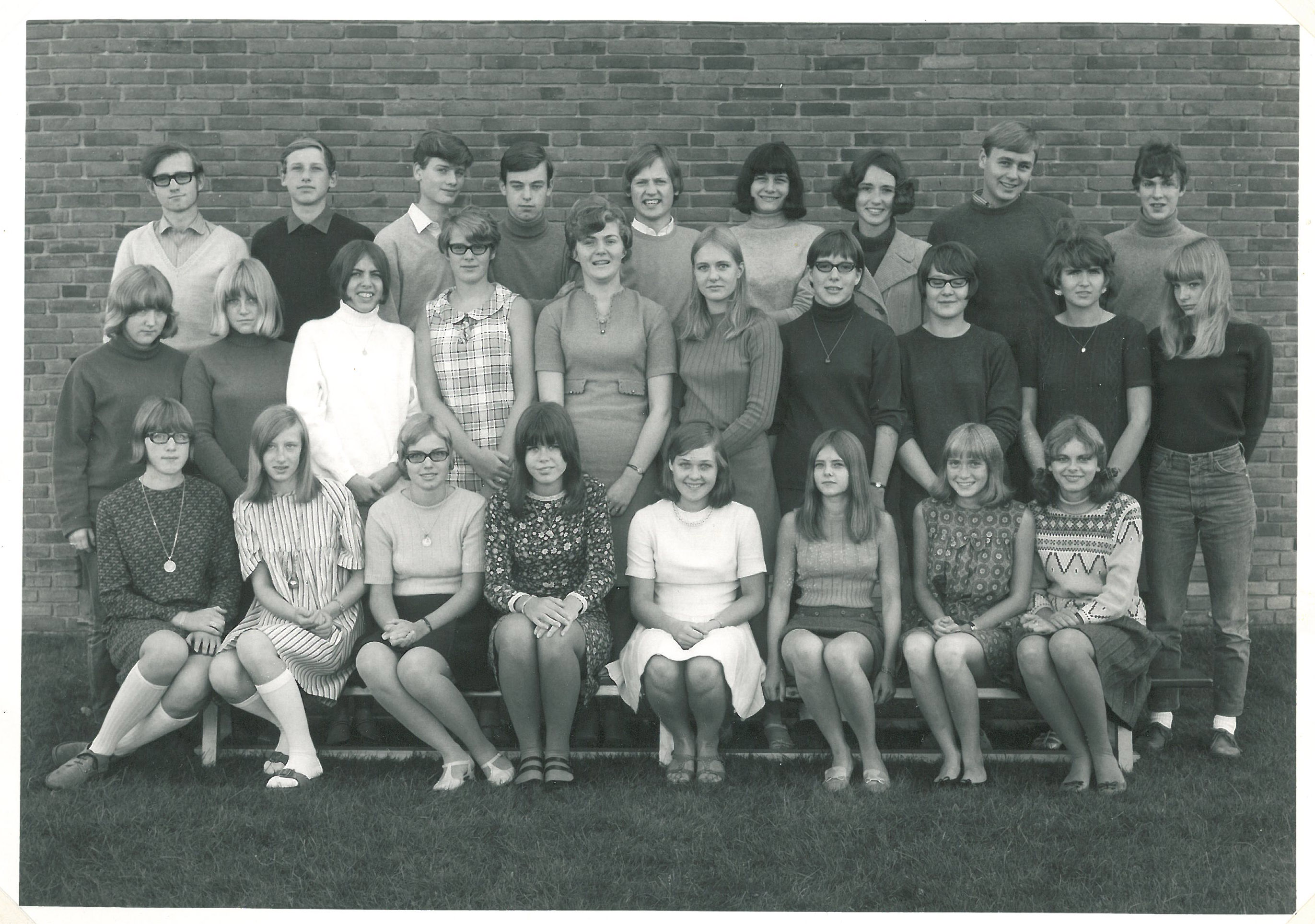 1.G på Ballerup Gymnasium 1967