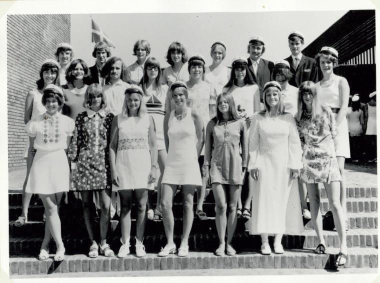 Studenterbilledet juni 1970