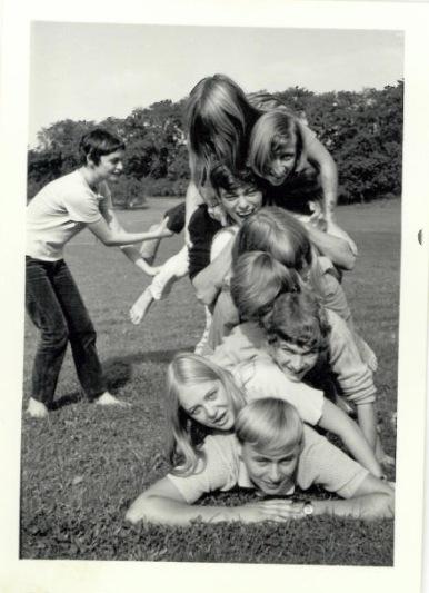 Opstilling ved Hald Egede 1969