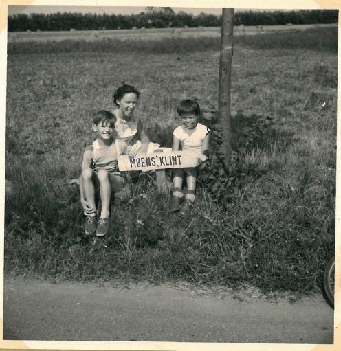 Cykeltur til Møns Klint 1959