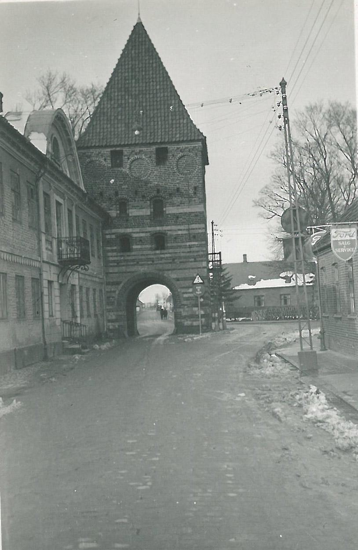 Stege byport. Påsken 1937