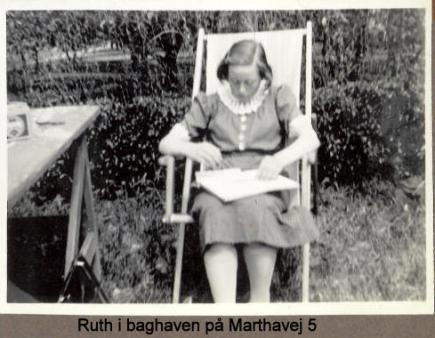 Min mor Ruth mens hun er i lære som defectrice i Holbæk 16-20 år