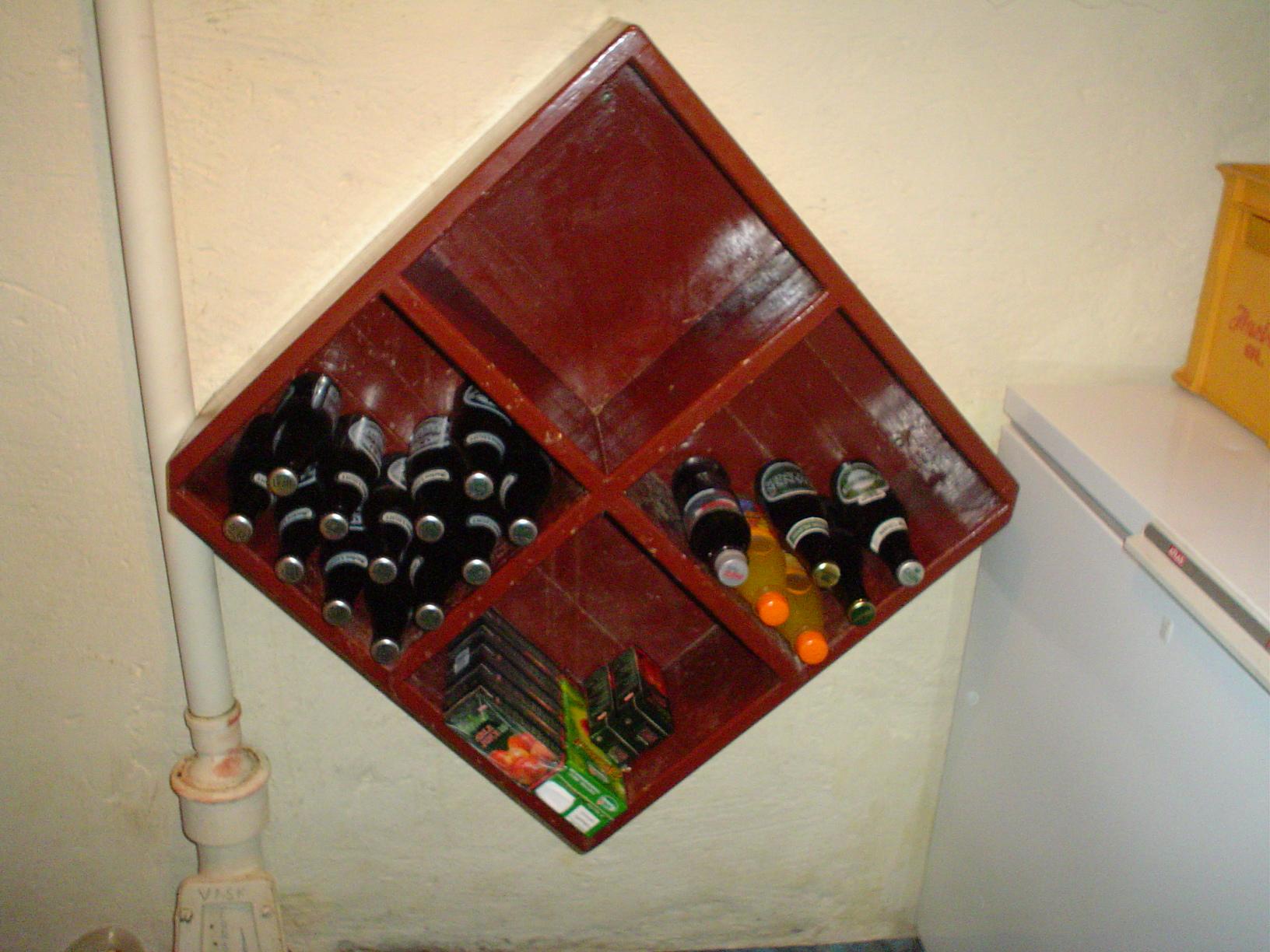 Trækassen med øl og sodavand