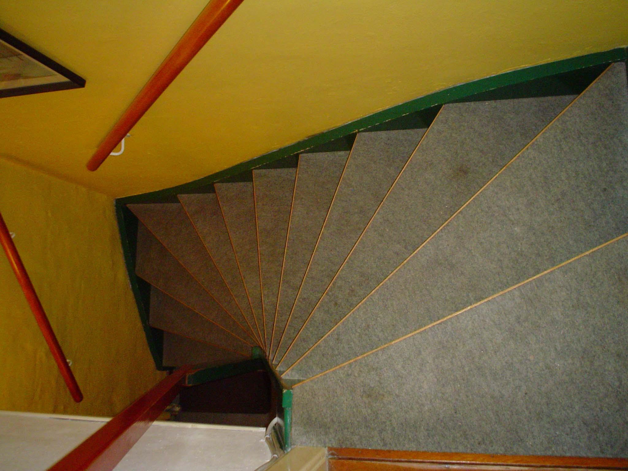 Køkkentrappen fra trappen